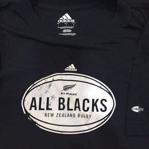 Adidas Men's Athletics New Zealand Rugby Tee